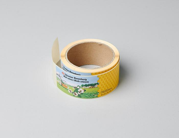 Etikette «Panorama» auf Rolle, 1kg