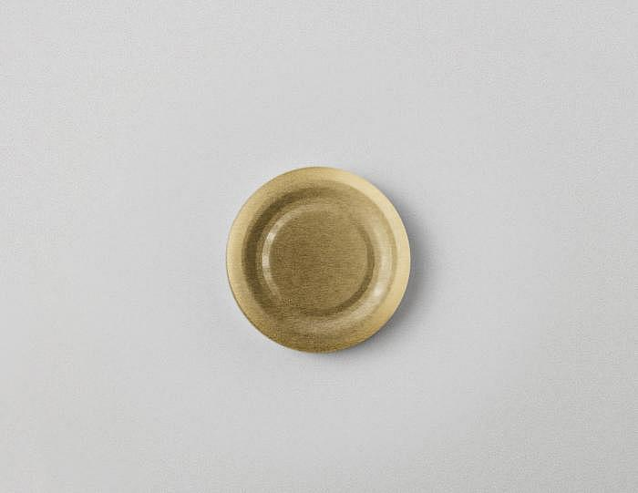 Deckel gold TO 53mm