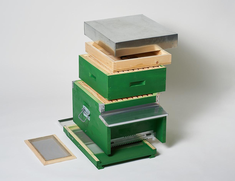wanderbeute dadant blatt 10 rahmen dadant blatt magazine bienen meier ag. Black Bedroom Furniture Sets. Home Design Ideas