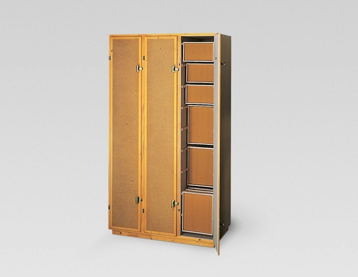 Armoire à rayons CH 3 portes