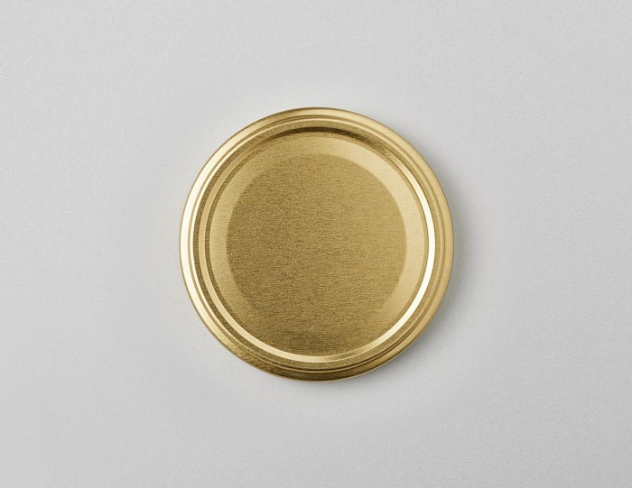 Deckel gold TO 82mm