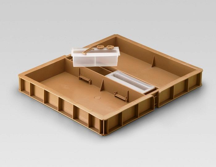 Futtergeschirr für DB 10 Rahmen