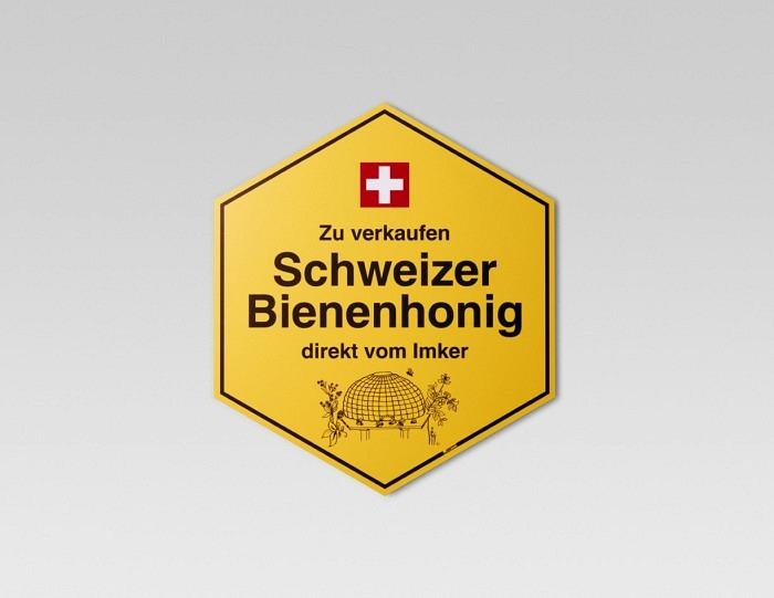 Panneau indicateur en allemand petit