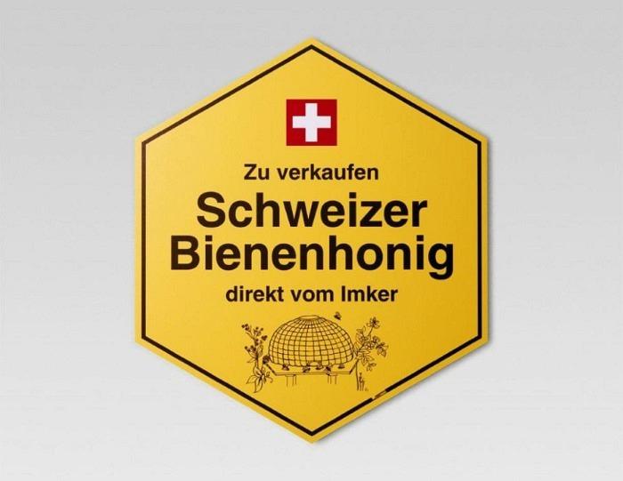 Panneau indicateur grand, allemand