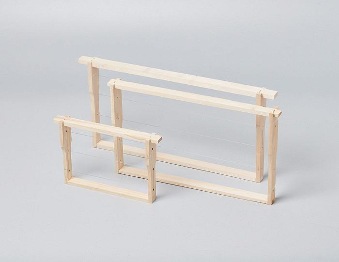 Rahmen mit Mittelwand