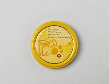 Deckel gelb mit Biene TO 82mm BS
