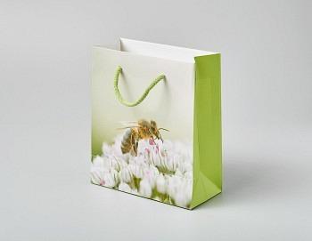 Tragtasche «Boutique Line hellgrün»